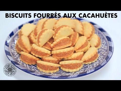Choumicha : Biscuits fourrés aux cacahuètes - Ain w Hajeb