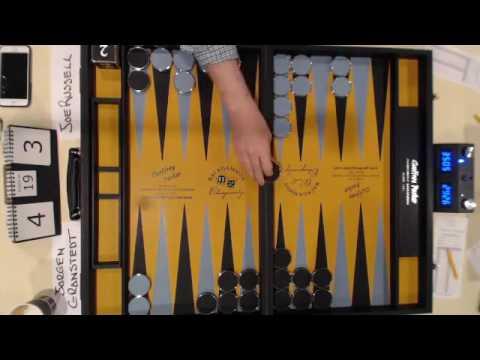 2016 Backgammon World Championship Final - Game 6 (Abridged)