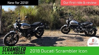 3. 2018 Ducati Scrambler Icon | Our first ride and review