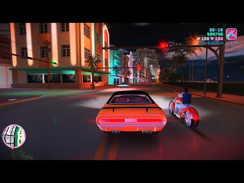 Grand Theft Auto Vice City 8K Ultra Graphics Gameplay Part 11 - GTA VC PC 8K 60FPS