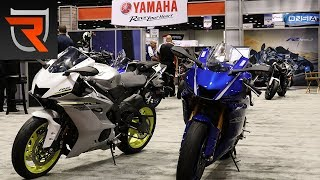 10. 2017 Yamaha YZF-R6 Motorcycle First Look Preview Video | Riders Domain