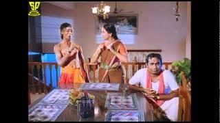 Brahmanandam Jayalalitha Funny scene-Sarpayagam