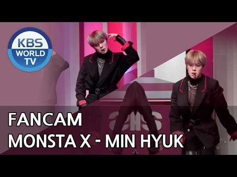 [FOCUSED]MONSTA X's MINHYUK - Shoot Out[Music Bank / 2018.10.26]