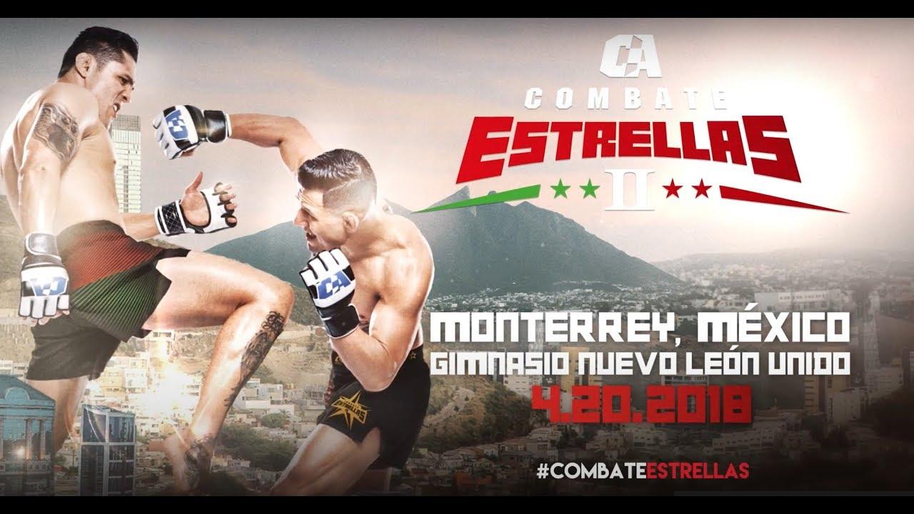 Combate Estrellas II: Stars Will Rise in Monterrey, Mexico
