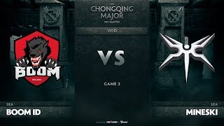 Boom ID vs Mineski, Game 2, SEA Qualifiers The Chongqing Major