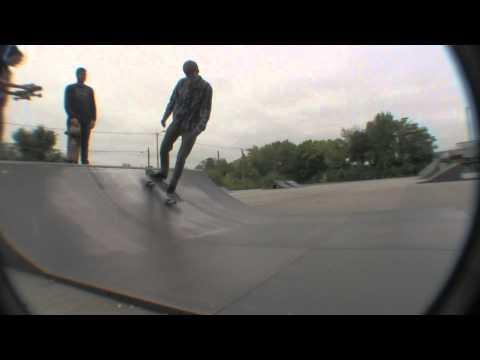 5 tricks ft Andrew Lowe Marion, IN Skatepark