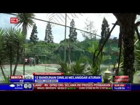 hotel di puncak - Satpol PP Kabupaten Bogor menyegel sebuah hotel berbintang tiga di kawasan Cisarua, Puncak, Jawa Barat. Penyegelan dilakukan selain hotel itu tidak memiliki ...