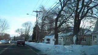 Stratford (CT) United States  city photo : STRATFORD CT - USA FILMED AFTER RECORD SNOW FALL