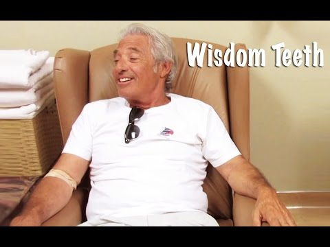 dad - My dad got a wisdom tooth pulled and explains the process while waking up.