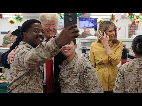 Τραμπ: «Οι ΗΠΑ δεν μπορούν να είναι ο χωροφύλακας του κόσμου»…