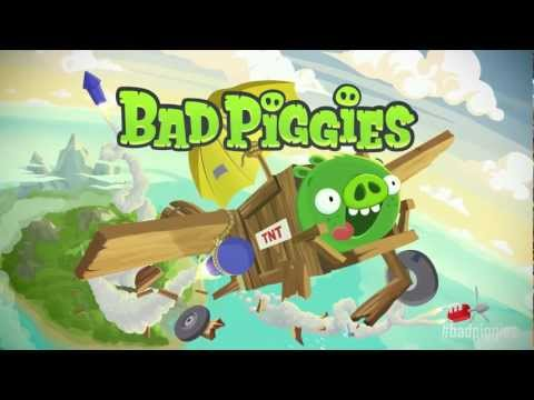 "Image of Rovio's first ""Bad Piggies"" gameplay trailer"