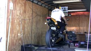 10. Triumph Daytona 675 Dyno tuning with Two Brothers exhaust