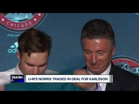 Michigan's Norris part of Erik Karlsson trade