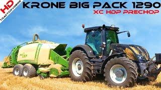 Video Krone BiG Pack 1290 XC HDP PreChop @ Valtra S354 | Quaderballenpressen MP3, 3GP, MP4, WEBM, AVI, FLV Mei 2019