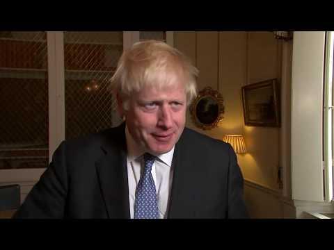 Großbritannien: Antrittsbesuch des Brexit-Premiers Jo ...