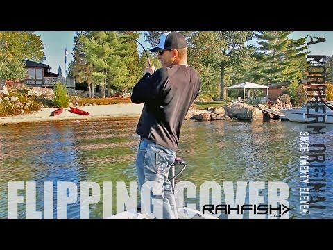 Fall Largemouth Bass Fishing – Flipping Deep Weeds