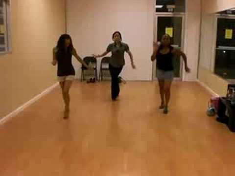 Женский стиль - сальса, танцевальная связка
