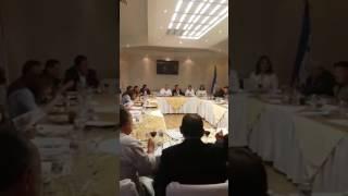 Presidente del colegio de Abogados de Honduras se reune con autoridades del Registro nacional de las