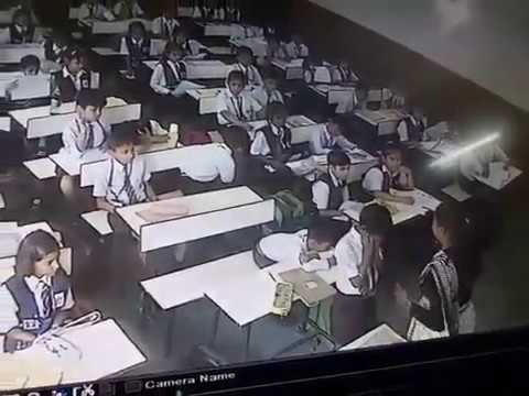 Indian Teacher Slaps a Small student 40 Times in just 3 minute