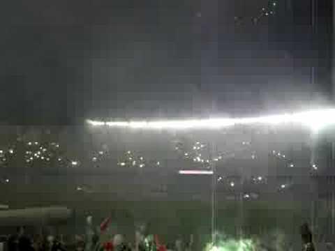 Show da torcida Fluminense LDU 02/07/2008 - Movimento Popular Legião Tricolor - Fluminense