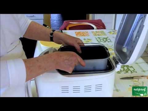 Faire son pain avec la machine à pain