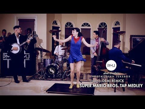 Super Mario Bros. (Tap Dance Medley) - Postmodern Jukebox (ft. Demi Remick)