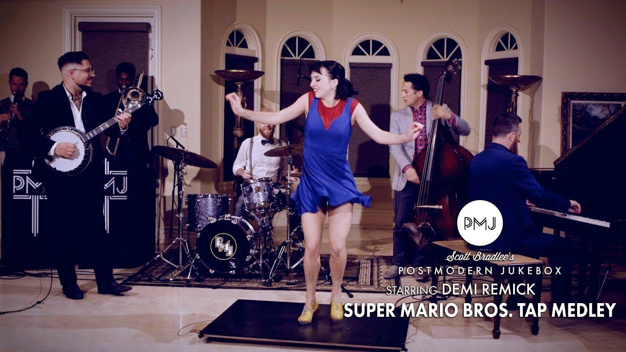 Super Mario Bros. (Tap Dance Medley) – Postmodern Jukebox (ft. Demi Remick)