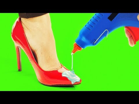 20 FABULOUS HACKS TO MAKE YOUR SHOES FIT AND LOOK PERFECT