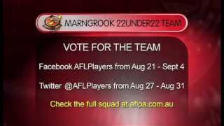 The Marngrook Footy Show preview the AFL Players' 22under22 concept.