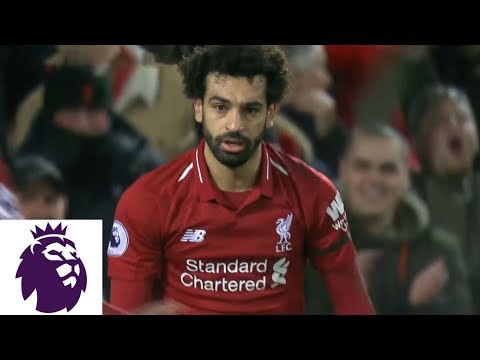 Video: Mohamed Salah's penalty kick adds to Liverpool's lead against Arsenal | Premier League | NBC Sports