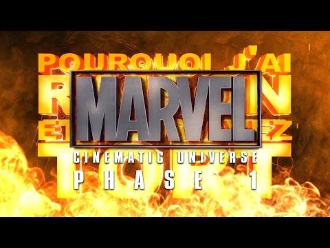 PJREVAT - Marvel Cinematic Universe : Phase 1 видео