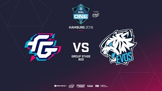Forward Gaming vs EVOS, ESL  One Hamburg, bo2, game 2 [GodHunt]