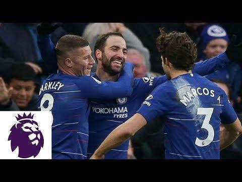 Video: Gonzalo Higuain scores on brilliant strike against Huddersfield | Premier League | NBC Sports