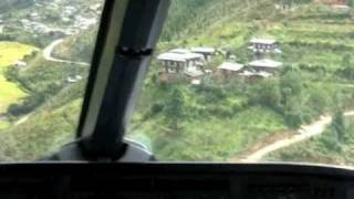 Truly incredible! Paro, Bhutan in a A319. Actual landing filmed from Cockpit. Fast forward to minute 6 if you need to! Filmed from...