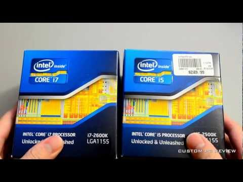 i7 core - Here's my quick 5 minute buying tips regarding the Intel Core i5 2500K or the Intel Core i7 2600K. Website: http://www.custompcreview.com Forums: http://www....