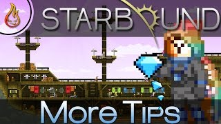 I have more awesome Starbound tips for you! In this video, I will show you how to get infinite diamonds, infinite buffs, easy money and much more. I have even ...