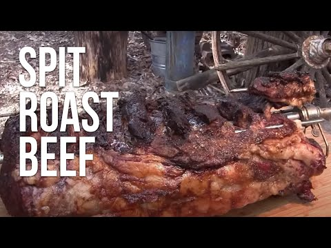 Spit Roast Beef by the BBQ Pit Boys
