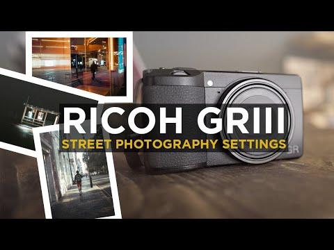 Ricoh GR III Street Photography Camera Settings