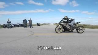 3. Top Speed fly by Runs, 2015 Yamaha R1, R6, 2006 CBR 1000RR
