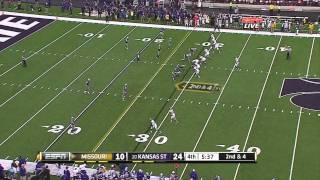 Michael Egnew vs Kansas State 2011