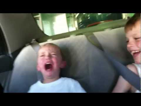 "Funny kid video scary car wash ride ""MUST SEE"" Hilarious"
