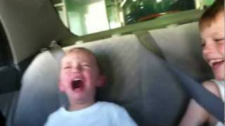 Funny Videos With Kids Discovers The Car Wash