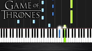 Game of Thrones - Light of the Seven / Hear me Roar by Taioo - Piano Cover/Tutorial