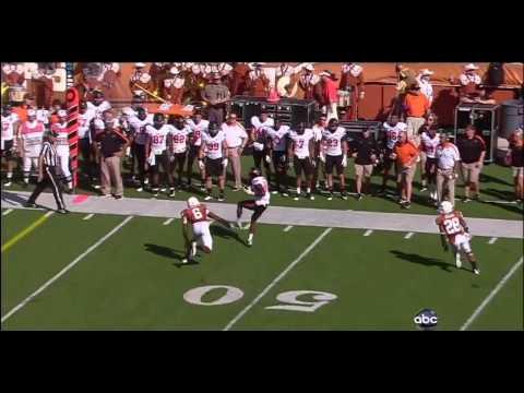Brandon Weeden vs Texas 2011 video.