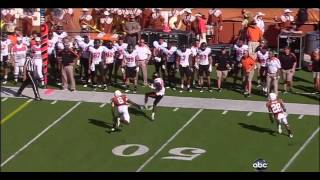 Brandon Weeden vs Texas 2011