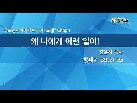 2021년 8월 4일 수요성서아카데미 '아! 요셉 1강'