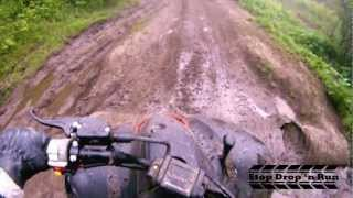 8. Polaris Trailblazer 250 2 Stroke ATV Mud Bogging Quad