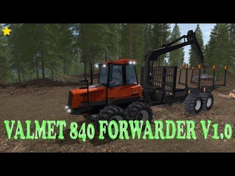 Valmet 840 Forwarder v1.0