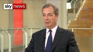 Farage warns of the 'final betrayal' over Brexit