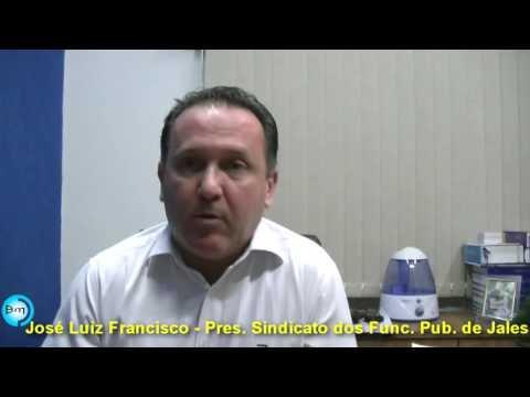 Jales - EXCLUSIVO - Segunda Parte da entrevista com José Luiz sobre o 14º salário dos servidores Municipais